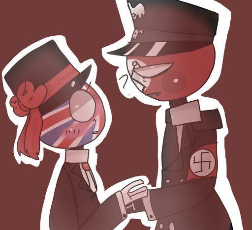 Countryhumans UK x Third Reich