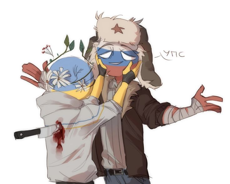 Russia x Ukraine - CountryHumans