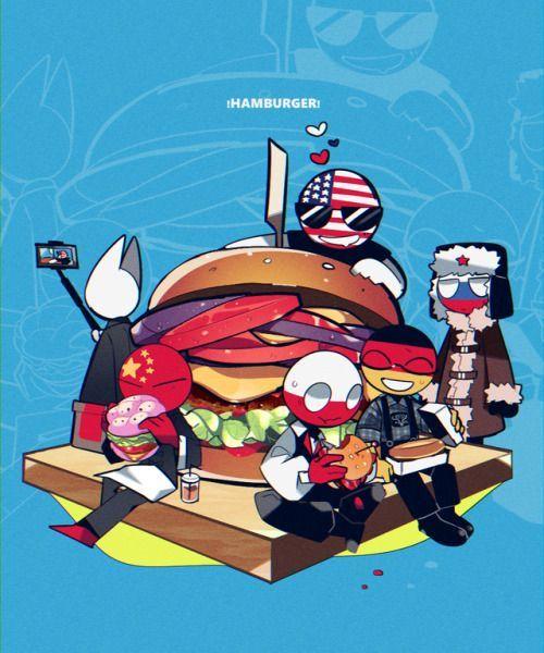 countryhumans Hamburger