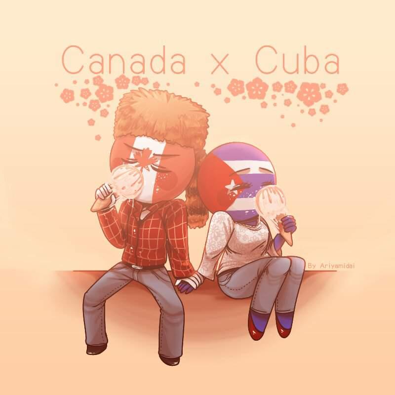 countryhumans canada x cuba