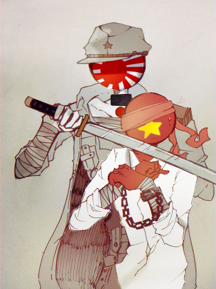 Japan empire x Vietnam countryhumans