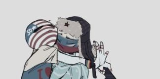 Countryhumans USA x Russia