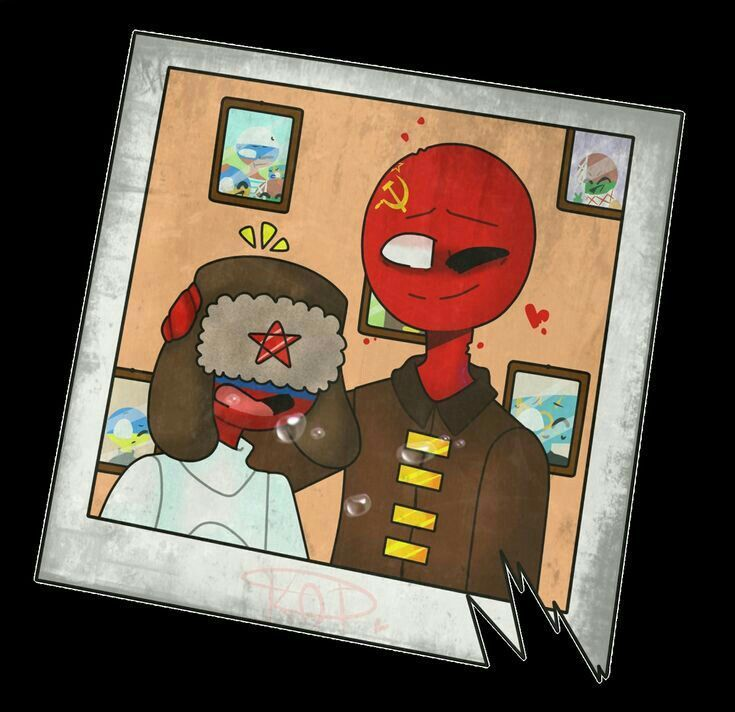 Countryhumans russia x Ussr