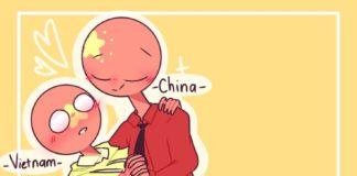 China x Vietnam countryhumans