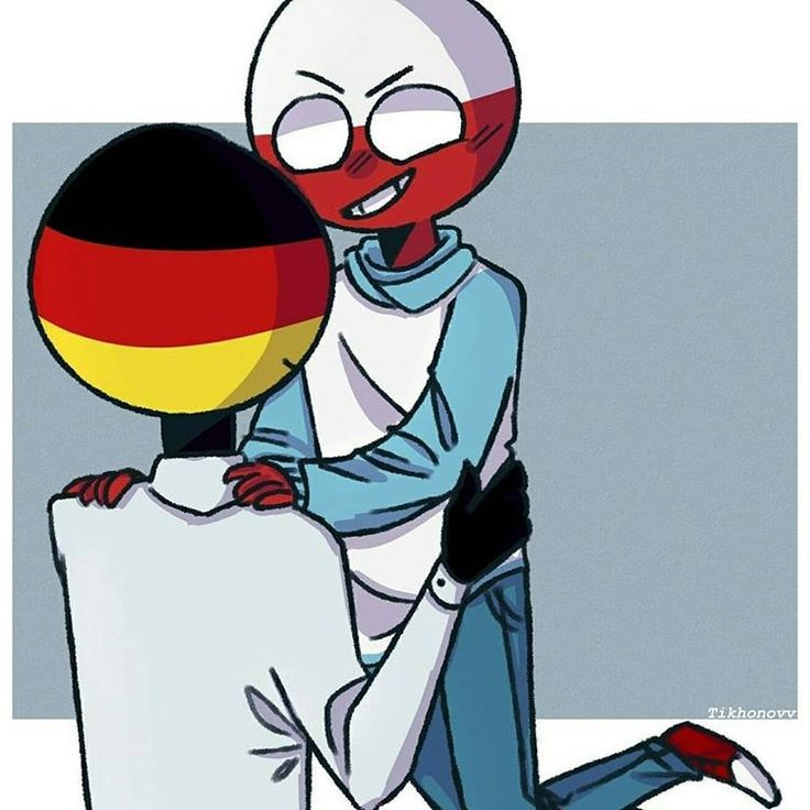 Countryhumans Germany x Russia