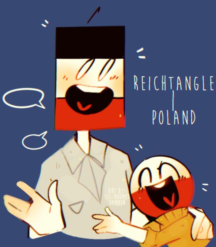 Reichtangle x Poland countryhumans