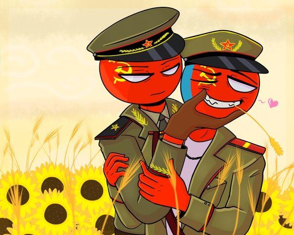 CountryHumans USSR love 💞