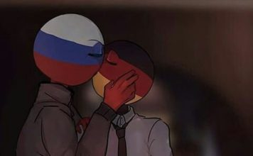 russia x germany countryhumans
