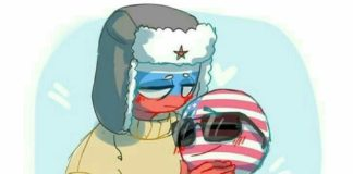 countryhumans russia x america