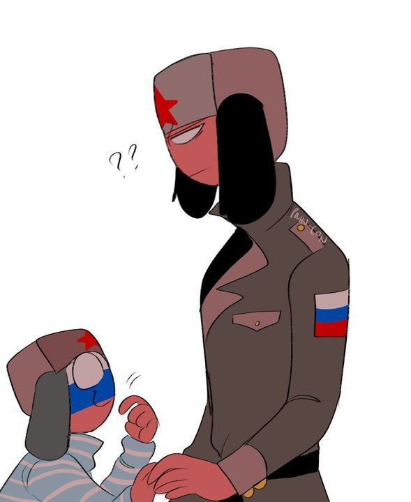 countryhumans Ussr x russia : father & Son - CountryHumans