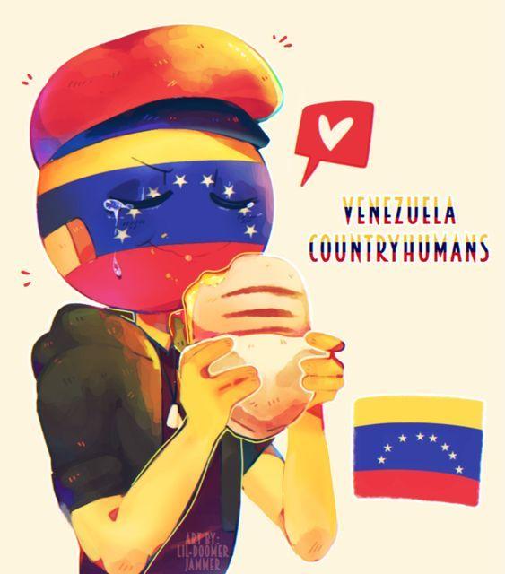 Venezuela countryhumans