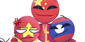 Countryhumans Vietnam x China x Laos