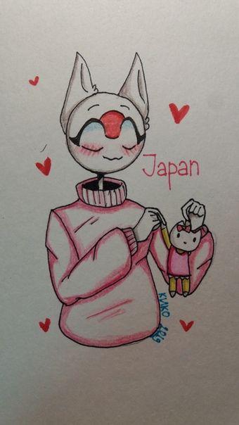 Japan countryhumans