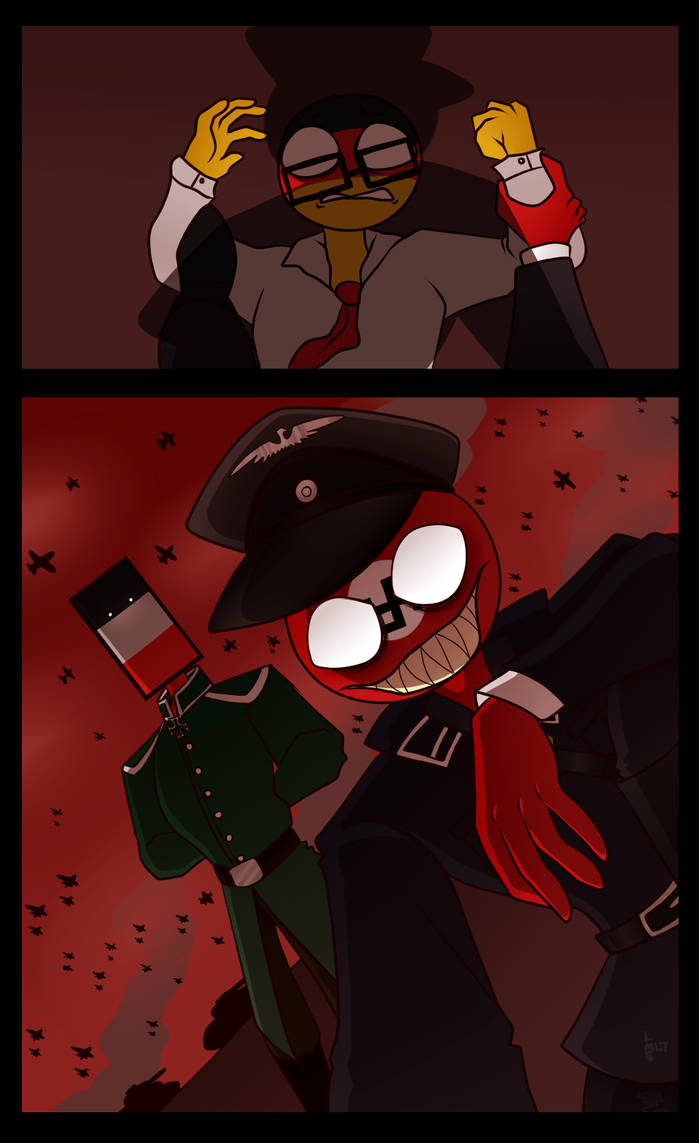 germany third second reich countryhumans