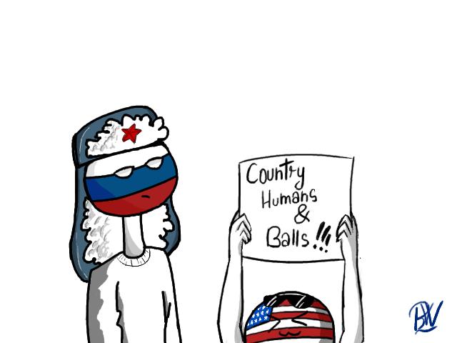 Countryhumans And Countryballs