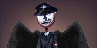 Dark angel Third Reich countryhumans