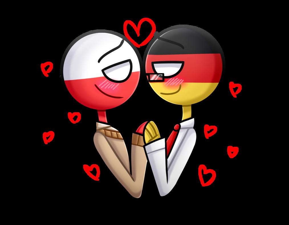 Gerpol [Countryhumans] germany x Poland