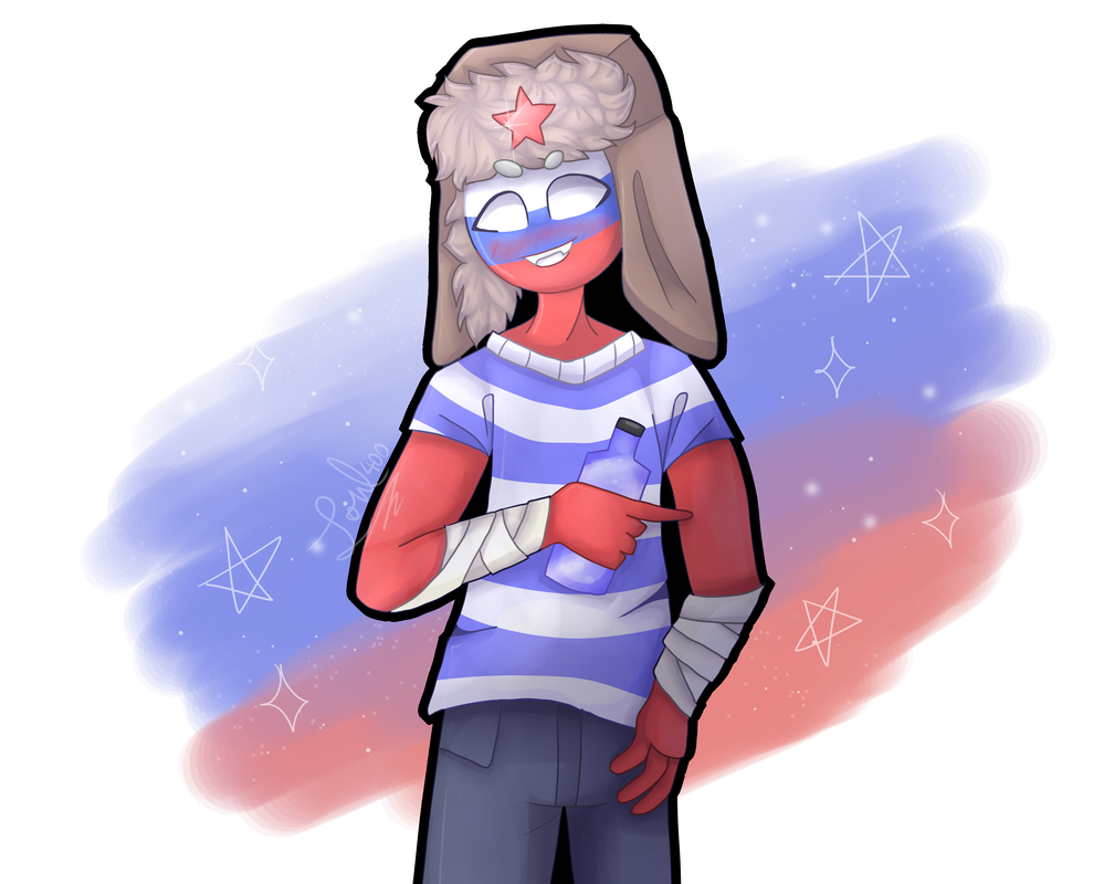 Russia (Countryhumans) - CountryHumans