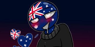 australia countryhumans