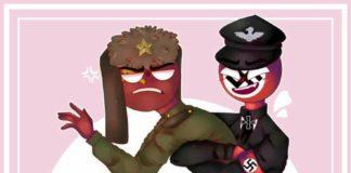 Countryhumans Ussr x Third Reich
