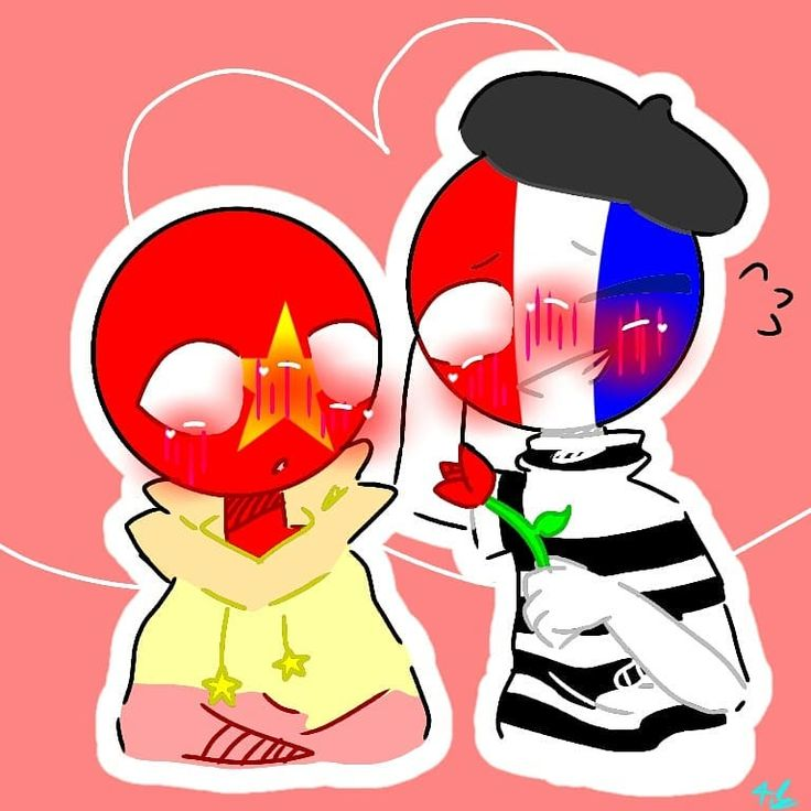 Countryhumans France x vietnam