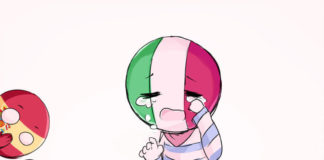 (#Countryhumans) : Poor Italy Ó~Ò (Original Artist: D3SO-P |on DeviantArt|) Japa
