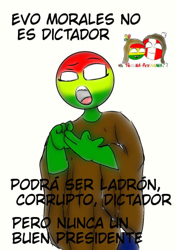 bolivia countryhumans