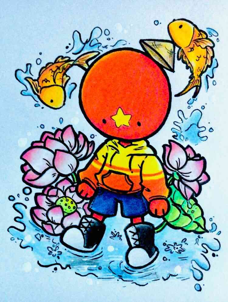 Vietnam Countryhuman Art ^^
