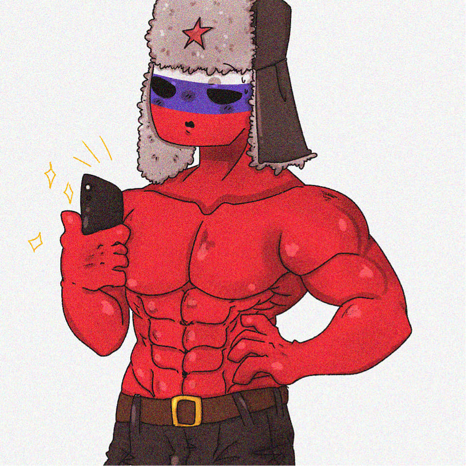 russia strong countryhumans